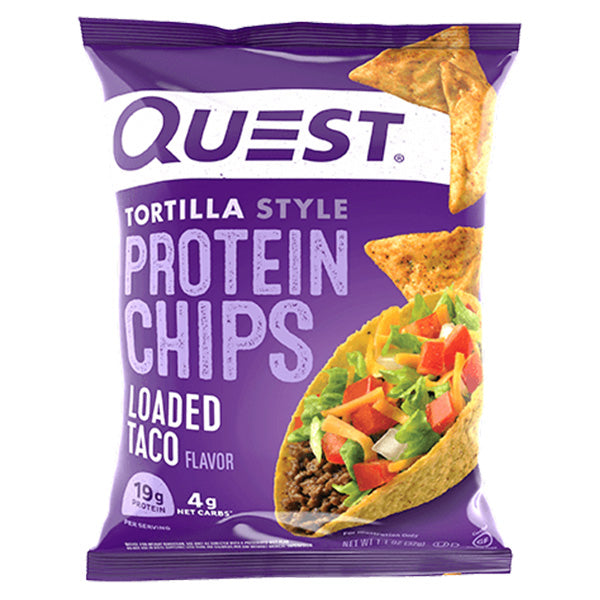 Loaded Taco Tortilla Style Protein Chips