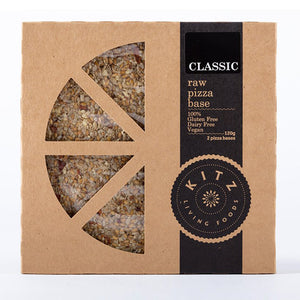 Classic Raw Pizza Base | 2 Pack