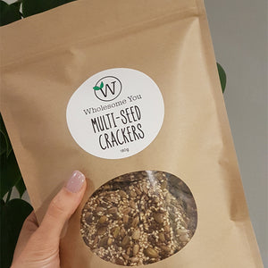 Multi Seed Crackers 180g