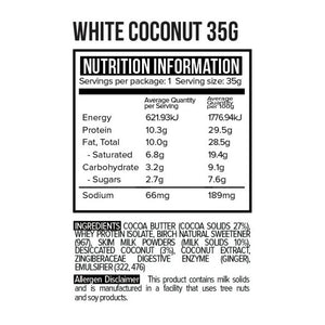 White Chocolate Coconut Rough 35g