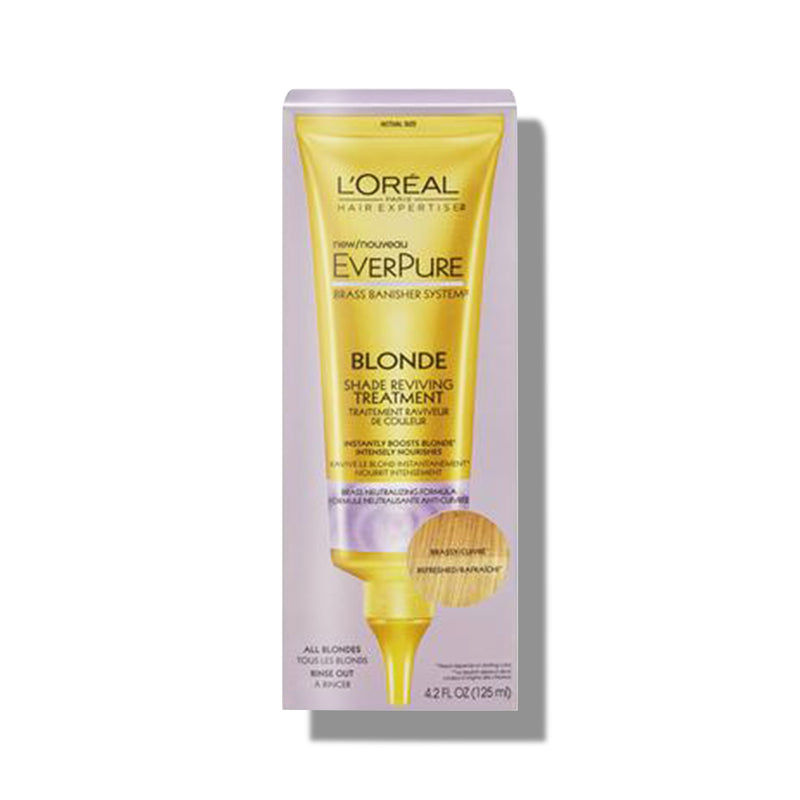 L'Oreal - Everpure Blonde Shade Brassy Treatment - Buy Online at Beaute.ae