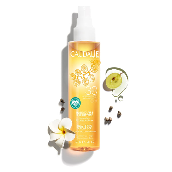 Caudalie - BEAUTIFYING SUNCARE OIL SPF30 - Buy Online at Beaute.ae
