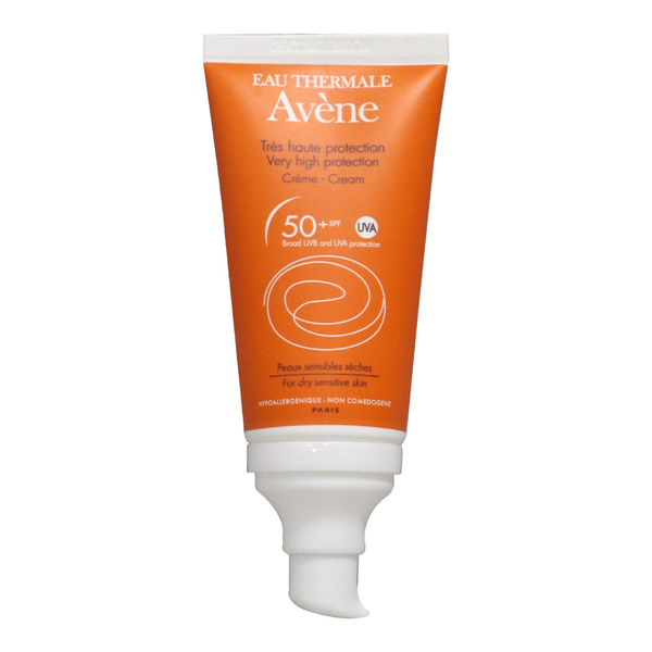 Avene - Suncream SPF 50+ - Buy Online at Beaute.ae