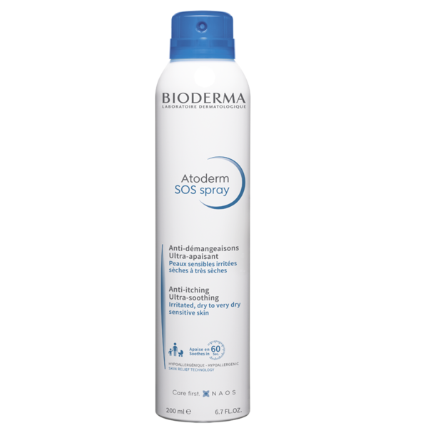 Bioderma - Atoderm SOS Spray Anti-itching - Buy Online at Beaute.ae