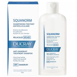 Ducray - Squanorm Anti-dandruff treatment shampoo - Buy Online at Beaute.ae