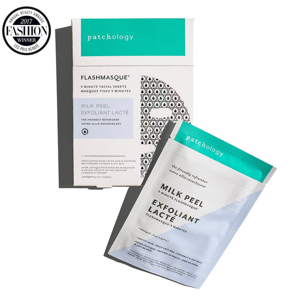 PATCHOLOGY - FLASHMASQUE® MILK PEEL 5 MINUTE SHEET MASK - Buy Online at Beaute.ae