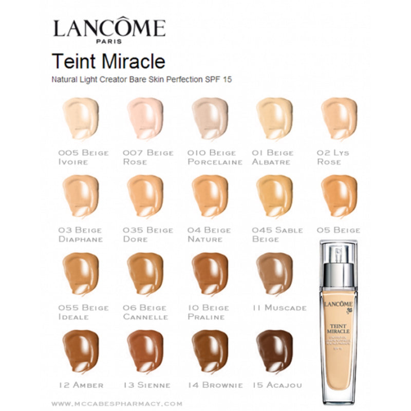 Lancôme - Teint Miracle Foundation - Buy Online at Beaute.ae