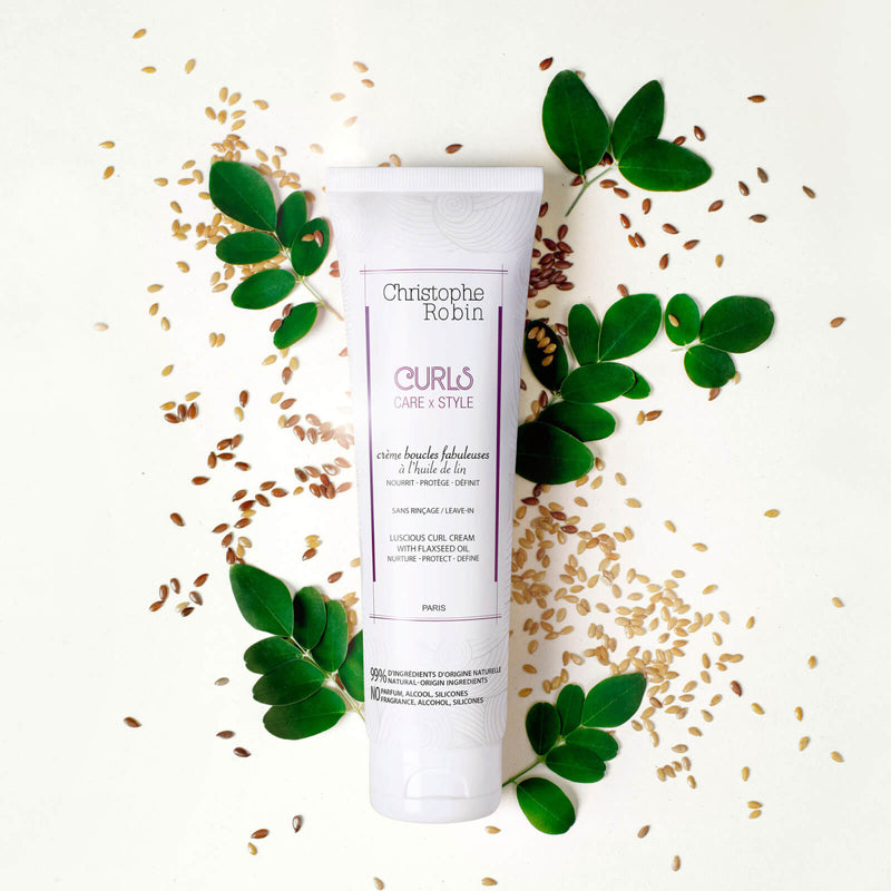 Christophe Robin - Luscious Curl Cream with Flaxseed Oil - Buy Online at Beaute.ae