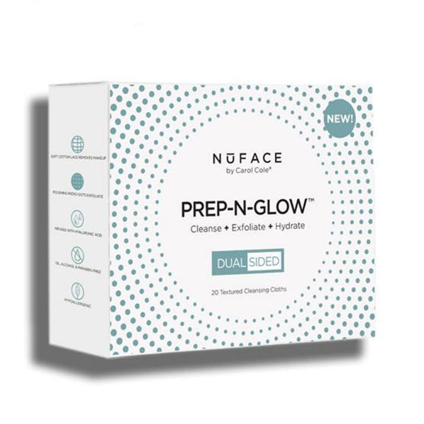 NuFace - Prep-N-Glow Cleansing Cloth - Buy Online at Beaute.ae