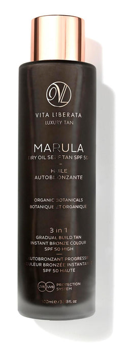 Vita Liberata - Marula Dry Oil Self Tan SPF 50 - Buy Online at Beaute.ae
