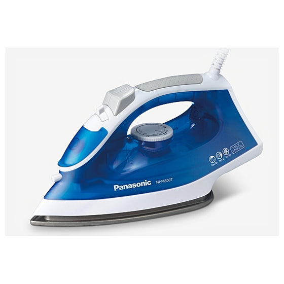 Panasonic Light & Easy Steam Iron Non Stick Soleplate 1800 Watts NI-M300T