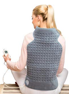 "Norstar 16"" x 25"" Electric Heating Pad with Fast Heat for Neck & Back GG300"