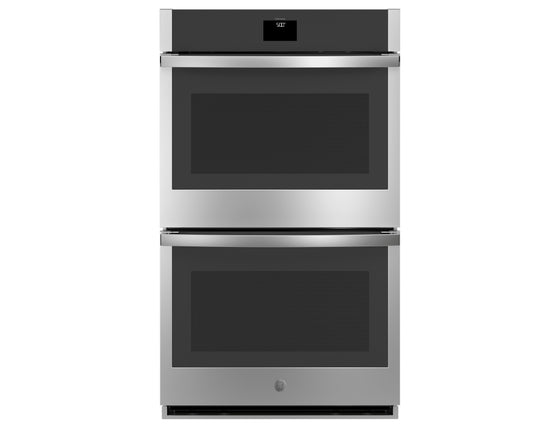 "220 VOLT GE 30"" Built-In Stainless Steel Convection Double Electric Wall Oven JTD5000SNSS"