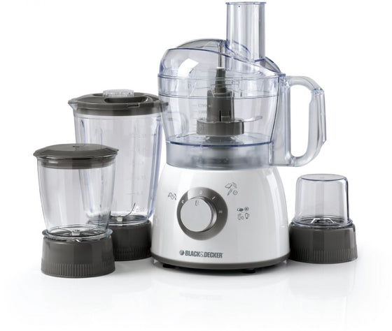 Black & Decker Food Processor/Blender/Grinder/Mincer 5 Cups 400 Watts FX400BMG