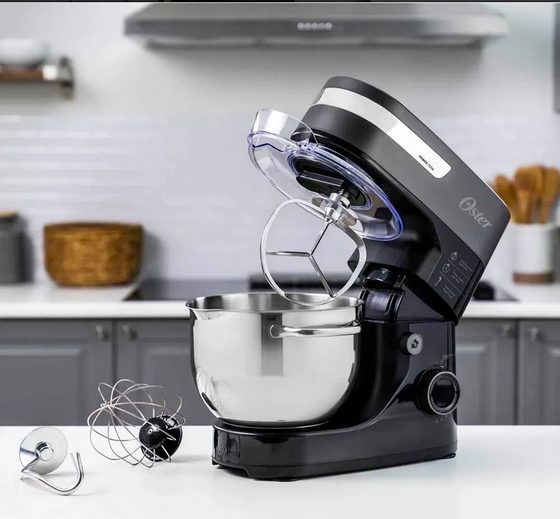Oster 4L Planetary Action Stand Mixer Stainless Steel Bowl 12 Speeds 750 Watts FPSTSM3711