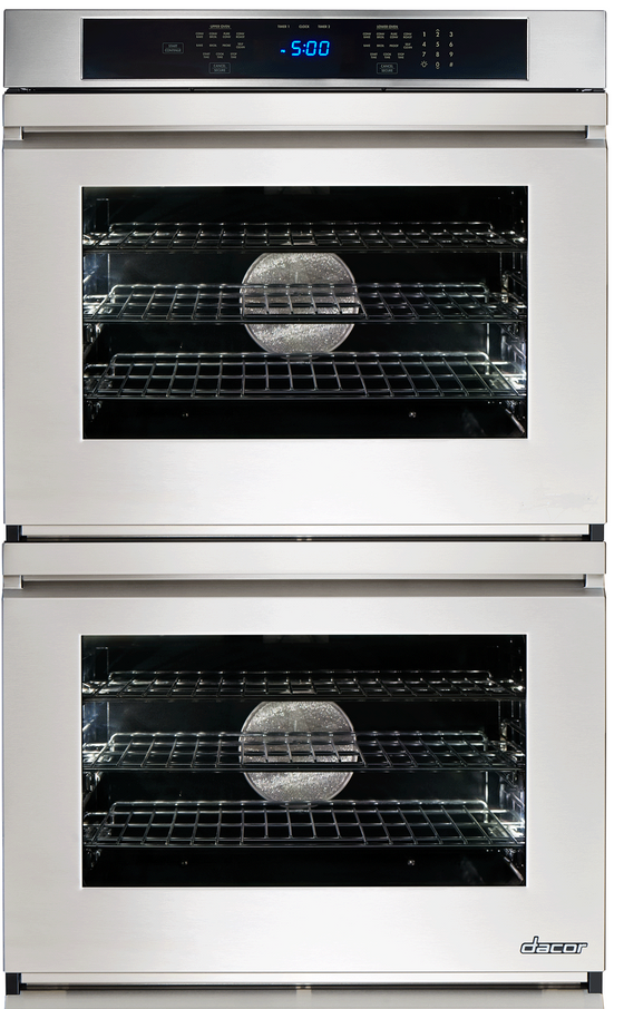 220 VOLT Dacor Heritage Built-In Stainless Steel Double Electric Wall Oven HWO230 /HWO227