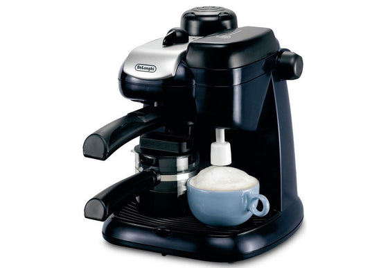 Bondy Export, DeLonghi, 220 Volt Espresso Capuccino Maker with Milk Frother