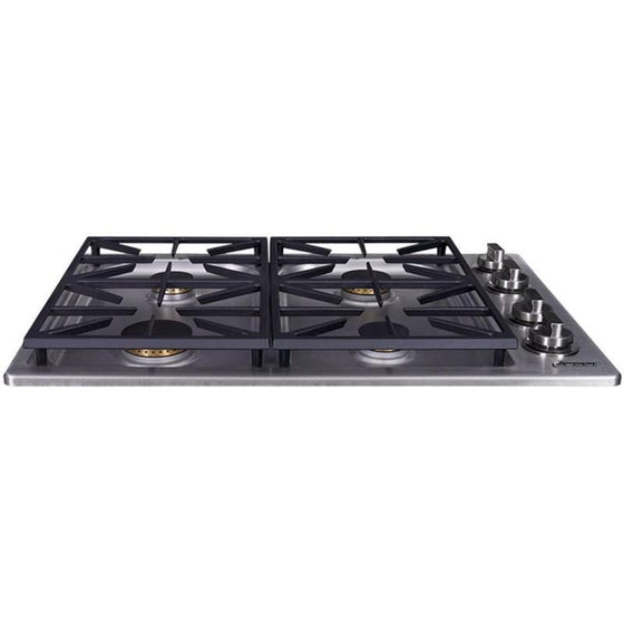 "Dacor Dual 30"" Stainless Steel Professional Gas Cooktop 4 Burners HDCT304GS-LP"