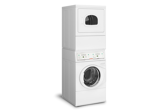 "Speed Queen 27"" Commercial Grade Front Load Washer/Electric Dryer Laundry Center LTEE5ASP303ZW01"