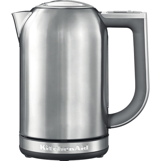 KitchenAid 1.7L Stainless Steel Cordless Electric Hot Water Kettle LED Display 3000 Watts 5KEK1722