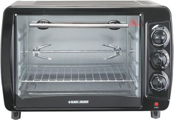 Black+Decker 35L Convection Toaster Oven w/Rotisserie 1500 Watts TRO55
