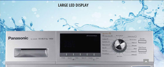 "Panasonic 23.5"" Front Load Washer/Electric Dryer Combo NA-SO85"