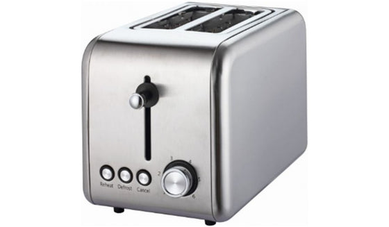 Frigidaire 2 Slice Wide Slot Stainless Steel Toaster 800 Watts FD3112
