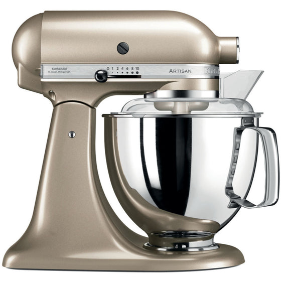 KitchenAid 5 Qt. Artisan Mixer with 2 Bowls and Flex Beater 10 Speeds 300 Watts 5KSM175 All Colors