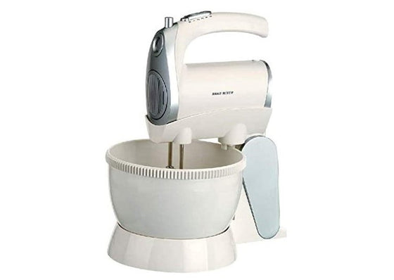 Frigidaire 2.4L Stand/Handheld Mixer Rotating Bowl 5 Speeds 300 Watts FD5122