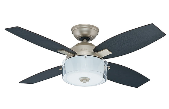 "Hunter Central Park 42"" Ceiling Fan w/Integrated Light Kit 4 Blades 50618 / 50619"
