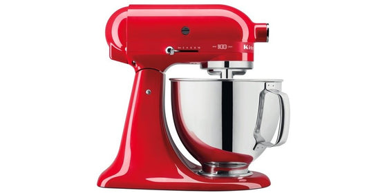 Kitchen Aid 5 Qt. Artisan Mixer 10 Speeds 300 Watts Queen Of Hearts 100 Year Limited Edition Passion Red 5KSM180HSD