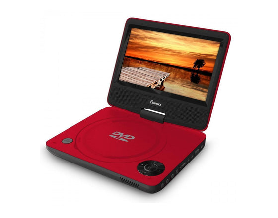 "Impecca Portable All Region DVD Player with 7"" Swivel Screen DVP-772"