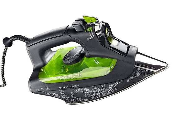 Rowenta Eco Intelligence MicroSteam Iron Stainless Steel Soleplate Self Clean Auto Shut-Off 2400 Watts DW6010