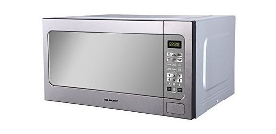 Sharp 2.2 cu.ft. (62L) Microwave Oven 1200 Watts R-562 Stainless Steel