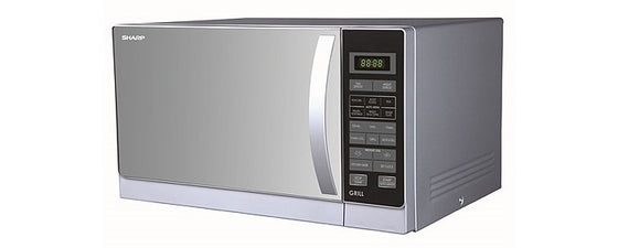 Sharp .9 cu.ft. (25L) Microwave w/Grill 1000 Watts R-72AO White