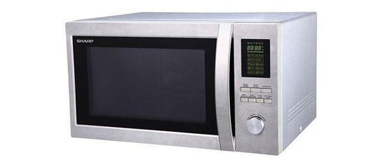 Sharp 1.5 cu.ft. (43L) Microwave Oven w/Grill  1200 Watts R78 Stainless Steel