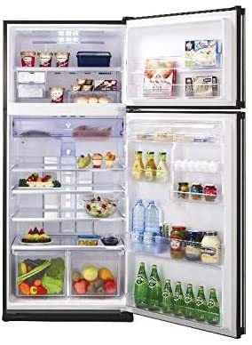 Sharp 23 cu.ft Top Mount Refrigerator Silver SJ-SE70D