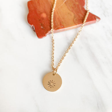 you are my sunshine necklace - NEW!
