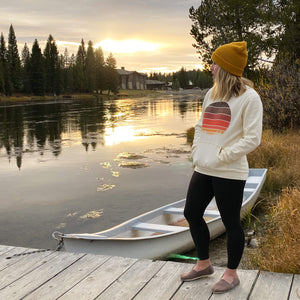 sunset seeker sweatshirt