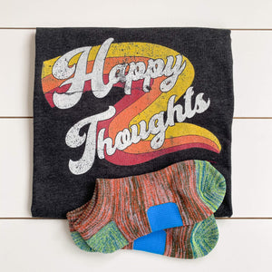 happy thoughts and socks set