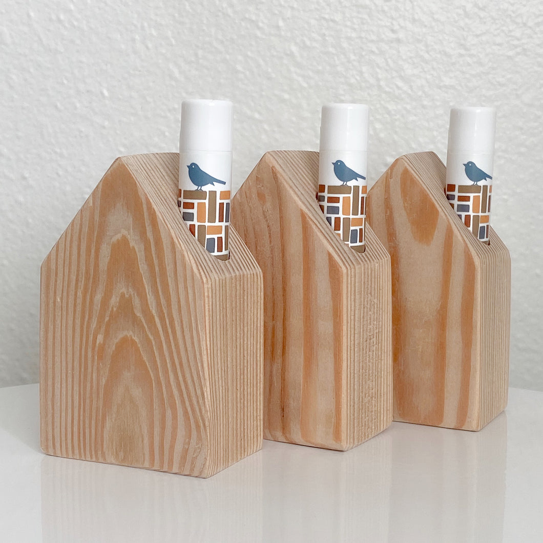lip balm bungalows: in the buff (set of 3)