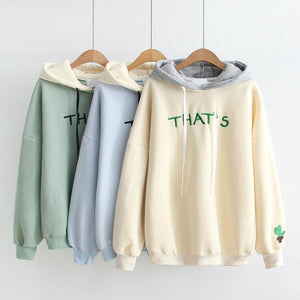 'That's' Cactus Thick Hoodie