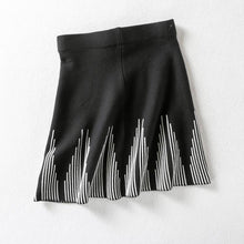 Load image into Gallery viewer, Striped Short Skirt