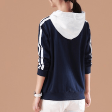 Load image into Gallery viewer, Two Piece Patchwork Hoodie