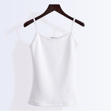 Load image into Gallery viewer, Solid Fleeced Tank Top