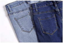 Load image into Gallery viewer, Elastic Pencil Jeans