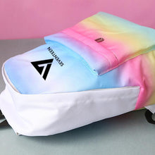 Load image into Gallery viewer, Rainbow Canvas Backpack