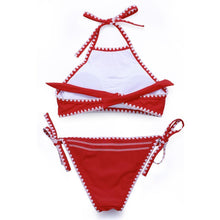 Load image into Gallery viewer, Solid Halter Bikini Set