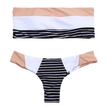 Load image into Gallery viewer, Striped Bikini Set