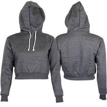 Load image into Gallery viewer, Cropped Hoodie